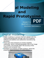 Digital Modeling and Rapid Prototyping