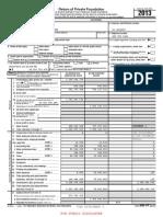 Belastingaangifte Bill & Melinda Gates Foundation