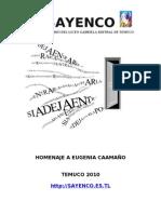 Taller Literario Del Liceo Gabriela Mistral De