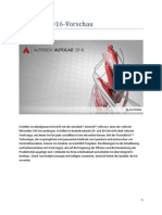 Autocad2016 Preview Guide