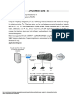 Application Note 35-Computer Telephony Integration in Eternity Pbxs & Navan