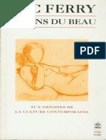 Ferry, Luc - Le Sens du Beau.pdf