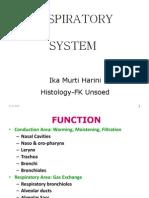 K2 - Histology of Respiratory System