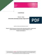 CIKEPEDIA RikalovicG Ekonomska Valorizacija Razvojne Uloge Kreativnog Sektora