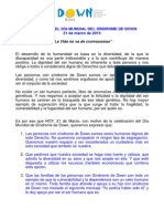 Manifiesto 21-3-2015