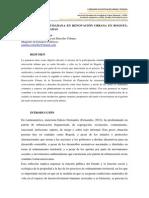 Participación Ciudadana en Renovación Urbana en Bogotá Retos y Dificultades