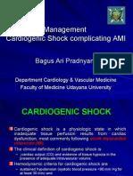Dr Bagus Ari - Cardiogenic Shock Kuliah