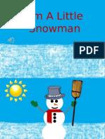 I'm a Little Snowman Powerpoint