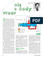 Chronic Valve Body Wear
