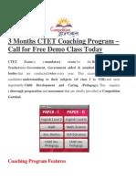 CTET Coaching in Delhi, CTET Coaching Institute in Delhi