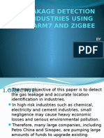 GAS_LEAKAGE_DETECTION_USING_ARM7_AND_ZIGBEE_-_Copy.pptx