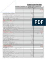 The British School New Delhi fees2014-15-schedule