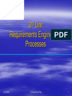 Software Engineering Unit 3-Requirements Engineering Processes