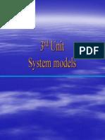 Software Engineering Unit 3-System Models