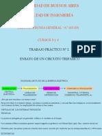Explicación trabajo práctico n° 1 ~ Mediciones en un circuito trifásico