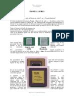 História Dos Processadores