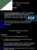 SISTEMA ÚNICO DE SAÚDE SUS.ppt