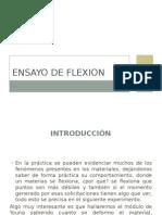 Ensayo de Flexion