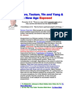 Acupuncture, Taoism, Yin and Yang & the New Age Exposed
