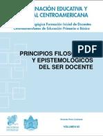 Principios Filosóficos y Epistemológicos de Ser Docente /  Rolando Pinto Contreras