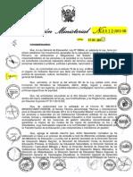 1-Directiva Anio Escolar 2014