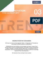 Futurebiz & TRENDONE Online Marketing Innovation Trendreport 03 2015