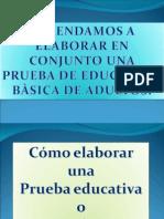 Presentaciò Elaboraciòn de Pruebas