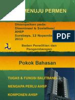 Paparan Ahsp Umum - Surabaya
