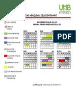 Calendario Semestral 14-15-2