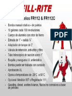 Bomba Manual de Transf Fill Rite Fr112 y Fr112c