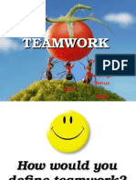 Teamwork TQM Ppt - Isha and Venus