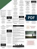 March 22, 2015 Worship Folder