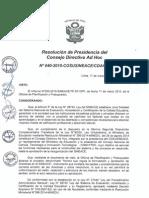 Resolución n040 2015 Cosusineace p