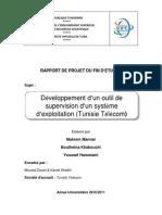 Développement d'Un Outil de Supervision d'Un Système d'Exploitation %28Tunisie Télécom%29
