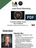 Iscope Digital Jeremy Gleason International Direct Marketing