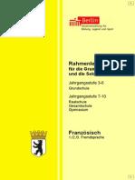 Rahmenlehrplan für die Grundschule und die Sekundarstufe I