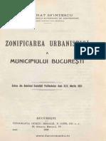 Zonificarea Urbanistică a Municipiului Bucureşti