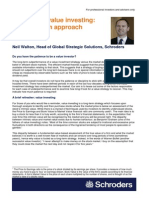 Thought Pieces Successful Value Investing Neil Walton