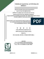 Prevalencia de Trastornos Psiquiátricos ERT