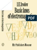 I. E. Irodov Basic Laws of Electromagnetism 1986