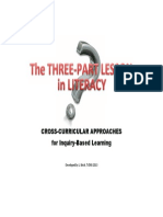 Three Part Lesson in Literacy