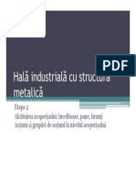Hala Industriala Cu Structura Metalica - Etapa 2