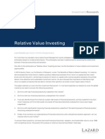 RelativeValueInvesting_LazardResearch