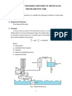 Discharge Coefficient