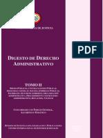 Digesto de Derecho Administrativo Tomo II