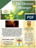 March 22 Newsletter