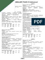 Vocabulary Files C1 KEY