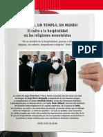 Cuilto a La Hospitalidad en Las Religiones Monoteistas
