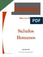 ROMANOS - LECCION 2