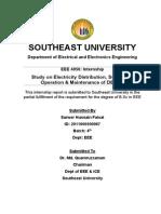 Study on Electricity Distribution, Substation Operation & Maintenance of DESCO